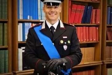 Auguri e rallegramenti al Tenente dei Cc Giuliano Braccia