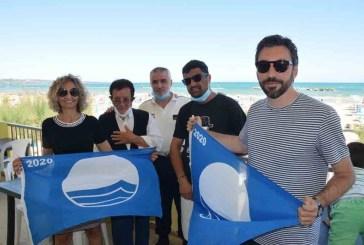 A San Salvo la consegna della Bandiera Blu 2020 ai balneari