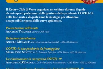 Pandemia Covid-19, la gestione della Fase 2 con il Rotary Club Vasto