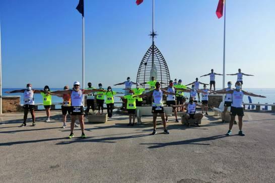 Runners Casalbordino 28062020 foto madonnina lungomare casalese