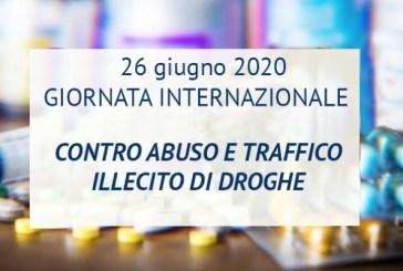 Oggi la Giornata internazionale contro l'abuso e il traffico illecito di droghe