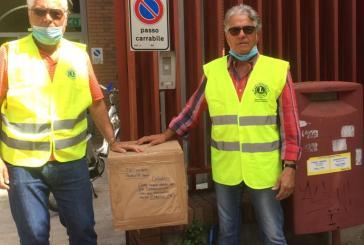 Lions Adriatica Vittoria Colonna, 231 paia di occhiali per i bisognosi