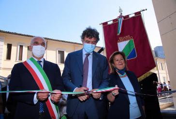 Inaugurato il Covid Hospital di Pescara, Marsilio: