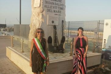 Inaugurato il Monumento Lions alle Vittime del Mare di San Salvo Marina