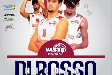 Vasto Basket, Nicola Di Rosso torna in biancorosso