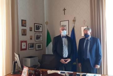 Thomas Schael in visita al nuovo Prefetto Armando Forgione, confronto su salute pubblica e Covid-19