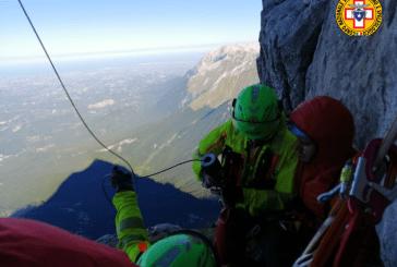 Recuperata dal Soccorso Alpino una salma sul Monte Camicia