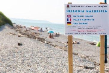Boom di presenze sulla spiaggia naturista di Torino di Sangro