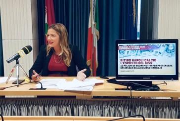 """Ritiro del Napoli, esposto del M5S. Marcozzi: """"Tanti dubbi su un'operazione da oltre 12 milioni di euro di soldi pubblici tolti alle imprese. La giunta chiarisca"""