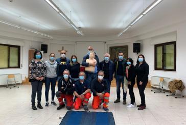 Dieci collaboratori parrocchiali di San Marco hanno seguito il corso per l'utilizzo del defibrillatore