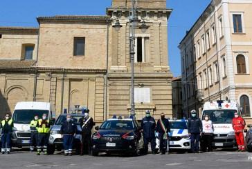 Giro d'Italia, la Questura di Vasto ringrazia la Protezione Civile di Casalbordino per il servizio svolto