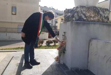 Vasto, stamane la deposizione di un omaggio floreale in ricordo dell'ambasciatore Luca Attanasio e del carabiniere Vittorio Iacovacci