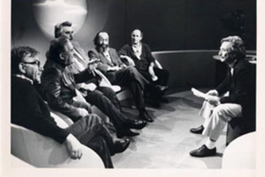 2. Sorrentino durante un incontro in Rai