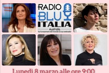 Lara Molino insieme a Cinquetti, Nava, Di Michele, Casale, per ricordare l'8 marzo