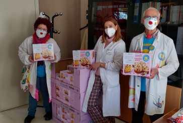50 colombe in dono dalla Ricoclaun al personale sanitario del San Pio