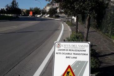 Vasto, iniziati i lavori per la Bike Lane