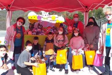 100 uova solidali Ricoclaun al Comune di Fresagrandinaria per fare gli auguri di Buona Pasqua ai bambini