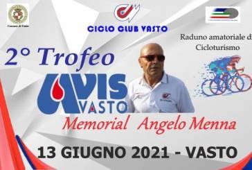 Il 13 giugno il Trofeo Avis dedicato alla memoria di Angelo Menna