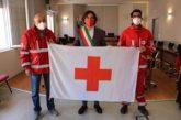 Giornata mondiale della Croce Rossa, esposta in Comune la bandiera della Cri