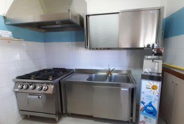 Una nuova cucina per la Scuola dell'Infanzia San Lorenzo