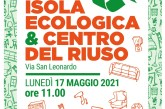 Sabato l'inaugurazione dell'Isola ecologica e del Centro del Riuso