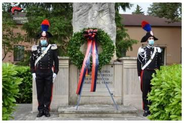 207° annuale della fondazione dell'Arma dei Carabinieri, la ricorrenza festeggiata nella Caserma