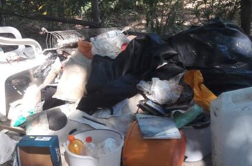 Blitz al Camping Sangro, trovati 15 stranieri nel degrado