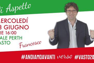 Mercoledì Francesco Menna inaugura il Comitato Elettorale