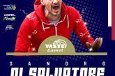 Vasto Basket, il coach Sandro Di Salvatore continua l'avventura biancorossa