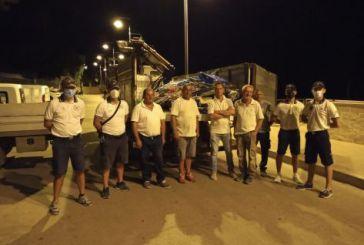 Vasto Marina, la Guardia Costiera rimuove e sequestra 45 ombrelloni e 41 sdraie e lettini da mare sulle spiagge libere