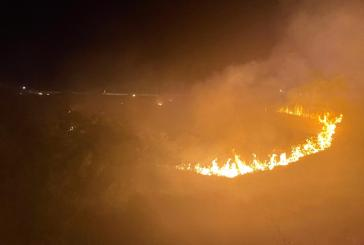 Incendio a Punta Aderci, ora si indaga