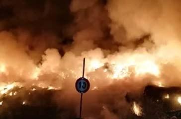 Incendio Belvedere Romani, identificato e denunciato il responsabile