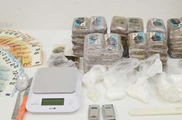 Arrestato 30enne di Termoli per spaccio di hashish e cocaina