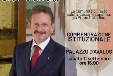 Scomparsa di Luciano Lapenna, sabato a Palazzo d'Avalos commemorazione isituzionale