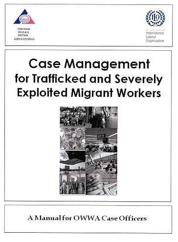Case management for trafficked and exploited migrant
