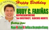 Congressman RCF turns 59!