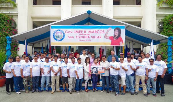 Sen. Cynthia Villar graces the Ilocos Norte Capitol on the province's 198th foundation anniversary celebration, just in time to witness the Open Capitol Day as well as awards ceremonies with the Philippine National Police (PNP) and the Metro Ilocos Norte Council (MINC). Sen. Villar is a firm advocate of addressing the problems of agriculture in the face of climate change.