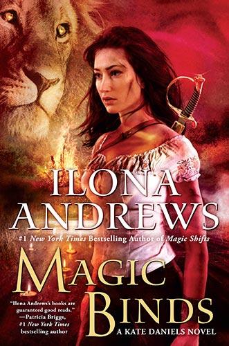 Book Cover: MAGIC BINDS