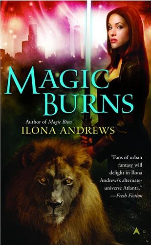 Book Cover: MAGIC BURNS