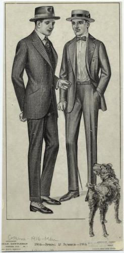 1916 mens fashion