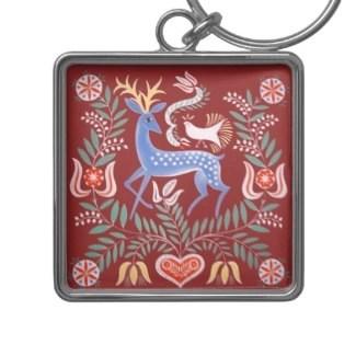 Hungary Deer Keychain keychain