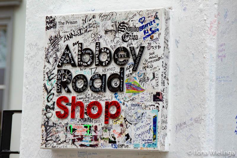 Londen 9 abbey road shop