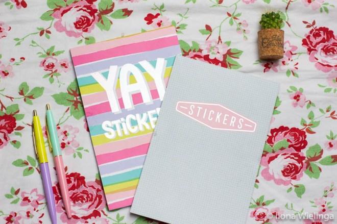 bullet journal action stickerboekjes 1