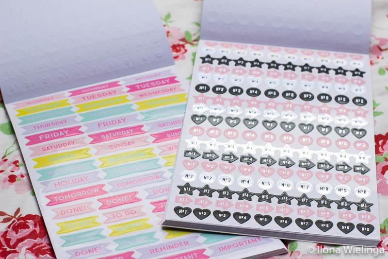 stickers bullet journal action stickerboekjes 3