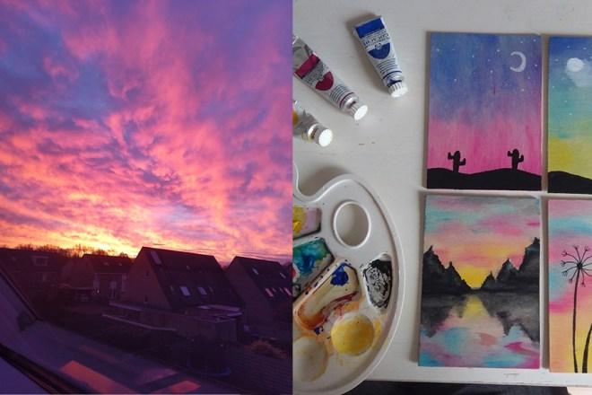 blijmakers 02 december lucht en schilderen