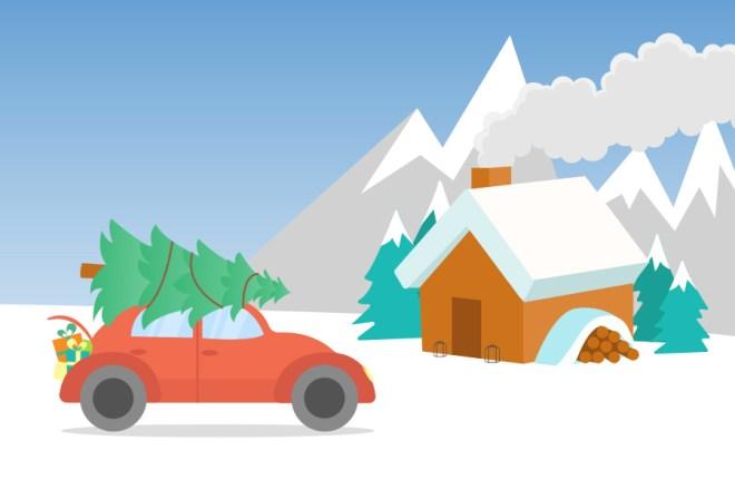 kerstachtergronden winterachtergronden gratis telefoonachtergronden