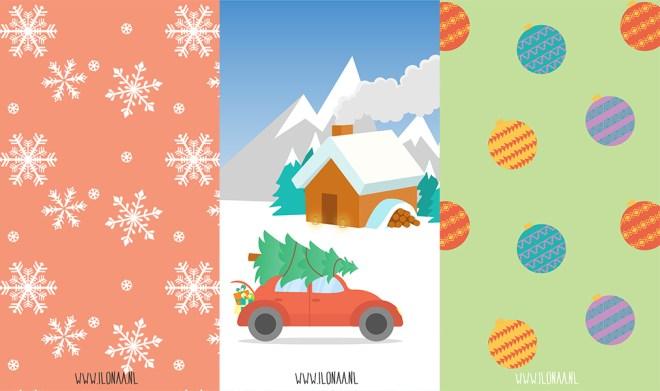 kerstachtergronden winterachtergronden 1