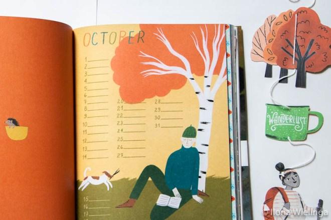 flow 5 book for paper lovers kalender