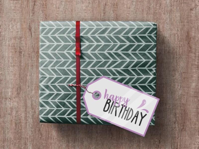 happy birthday labels printables