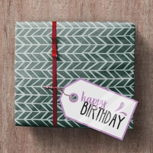 happy birthday labels printables